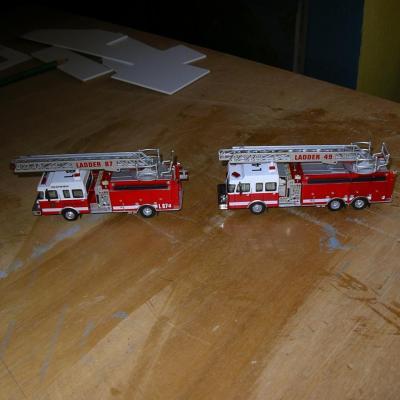 Comparaison des deux véhicules