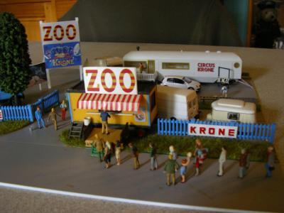 Eintritt des Zoos